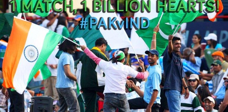 Pakistan vs India ICC Cricket World Cup 2015 Match