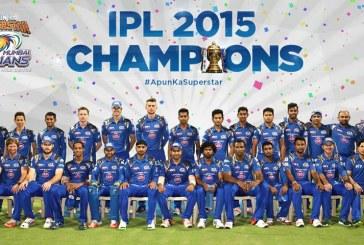 Mumbai Indians Win Indian Premier League – IPL T20 2015