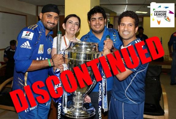 Champions League Twenty20 – CLT20 Discontinued