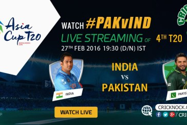 Watch Pakistan vs India Live - Asia Cup 2016