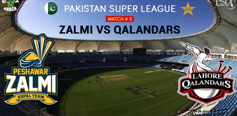 Peshawar Zalmi vs Lahore Qalandar Highlights