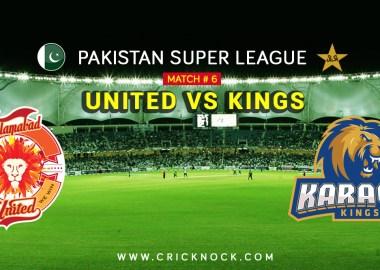 Islamabad United vs Karachi Kings Highlights