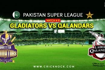 PSL T20 Match 8 | Watch Lahore Qalandars vs Quetta Gladiators Highlights