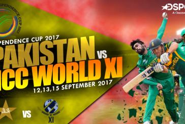 Independence Cup 2017 Schedule: Pakistan vs ICC World XI
