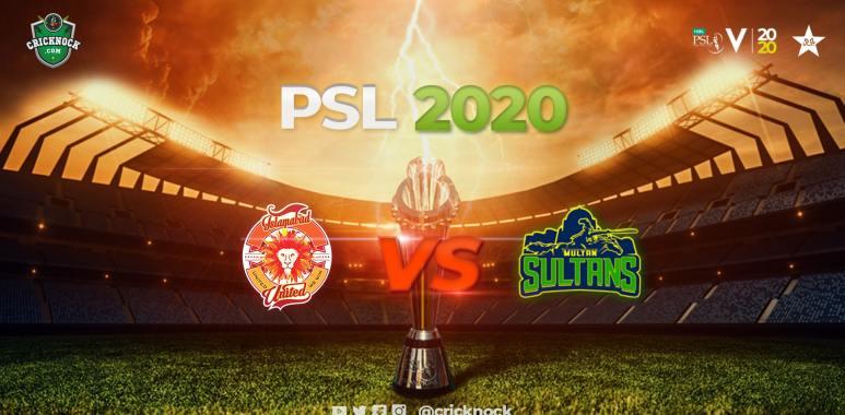 Islamabad United vs Multan Sultans