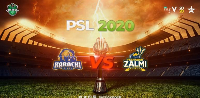 Karachi Kings vs Peshawar Zalmi