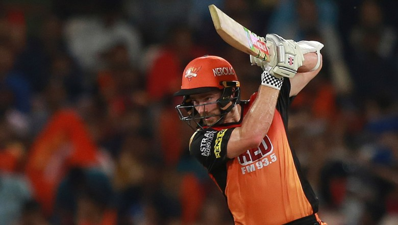 Sunrisers Hyderabad player Kane Williamson bats during VIVO IPL cricket T20 match against Delhi Daredevils