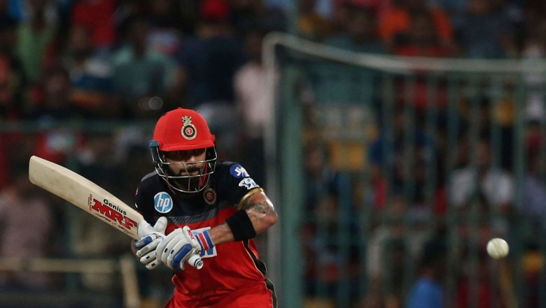 Royal Challengers Bangalore captain Virat Kohli bats during the VIVO IPL Twenty20 cricket match against Kolkata Knight Riders