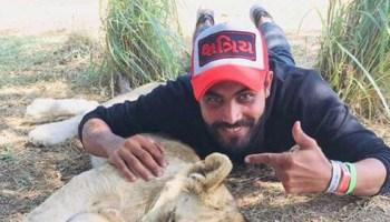 ravindra jadeja is currently enjoying his time away from international cricket.
