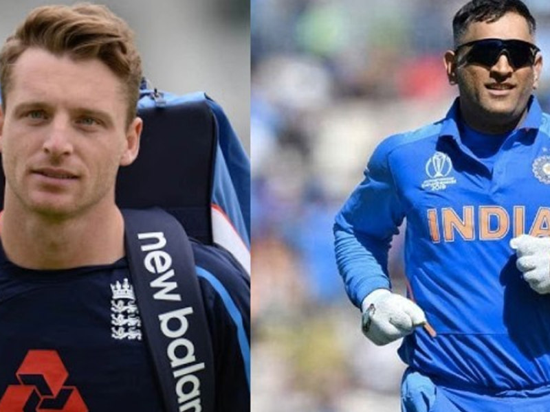 Jos Buttler, MS Dhoni