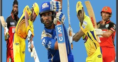 IPL में सबसे ज्यादा छक्के लगाने वाले टॉप 5 बल्ल्लेबाज