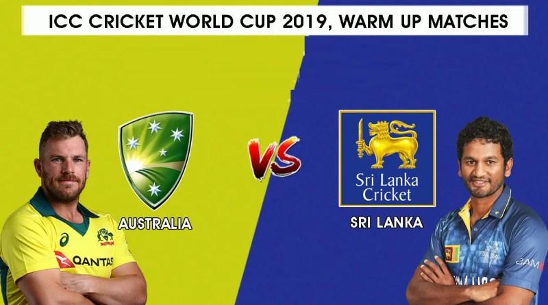 ऑस्ट्रेलिया vs श्रीलंका