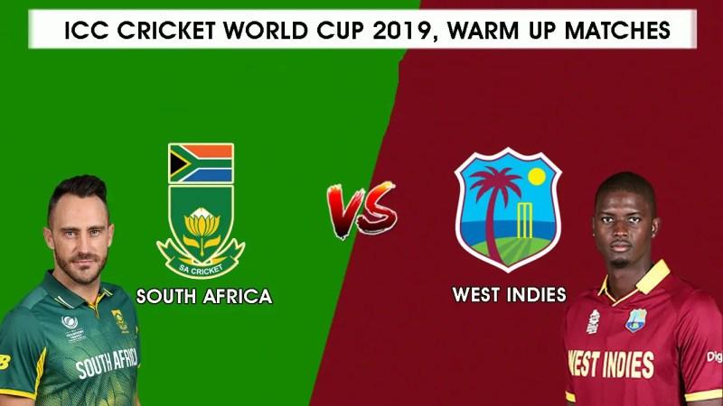 दक्षिण अफ्रीका vs वेस्टइंडीज