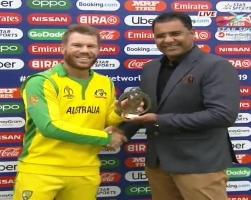 ऑस्ट्रेलिया vs पाकिस्तान : डेविड वार्नर