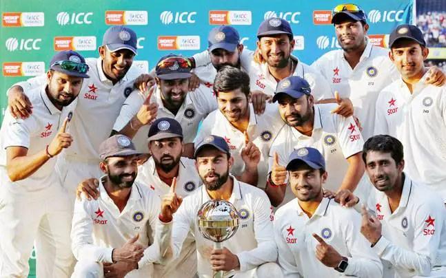 indian test cricket team