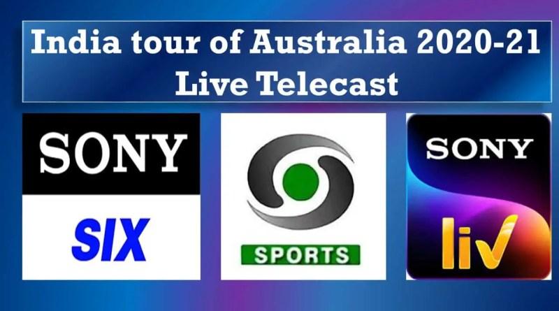 India tour of Australia 2020-21 Live