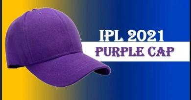 IPL 2021 Purple Cap