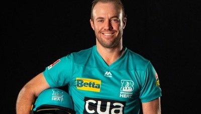 AB de Villiers signs for Brisbane heat for upcoming BBL 2