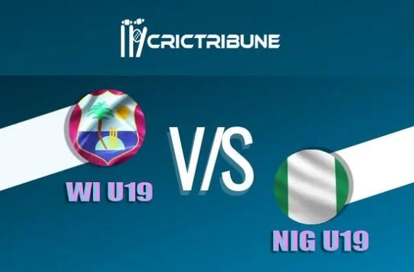 WI U19 vs NIG U19 Live Score 17th Match of U19 WC between West Indies U19 vs Nigeria U19 on 23 January 2020 Live Score & Live Streaming