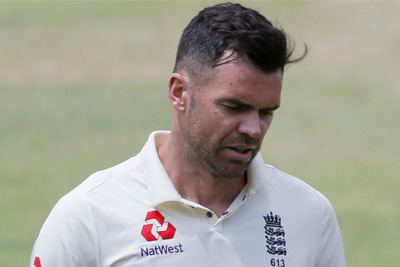 James Anderson ruled out of South Africa series 2