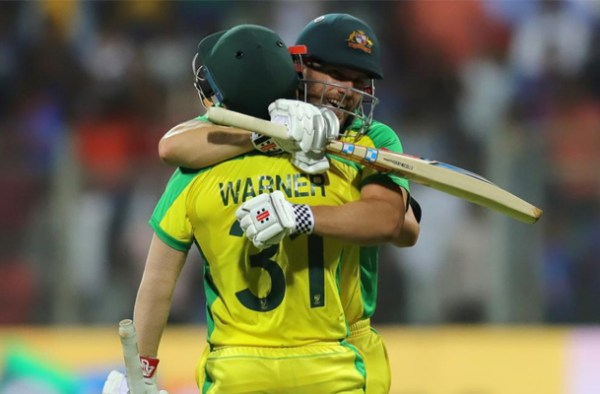Australia dominates India with a 10-wicket victory in 1st ODI 1