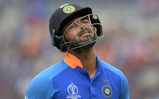 Rishabh Pant out of 2nd ODI against Australia 2