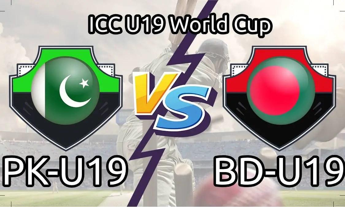 PAK U19 vs BAN U19 Live Score, 18th Match, Pakistan U19 vs Bangladesh U19 Live 1