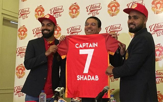 Shadab Khan named Islamabad United's captain