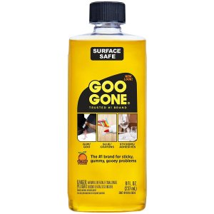 Goo Gone is an adhesive remover and can be used to clean your board so that you can apply a new layer of adhesive and make it sticky again.