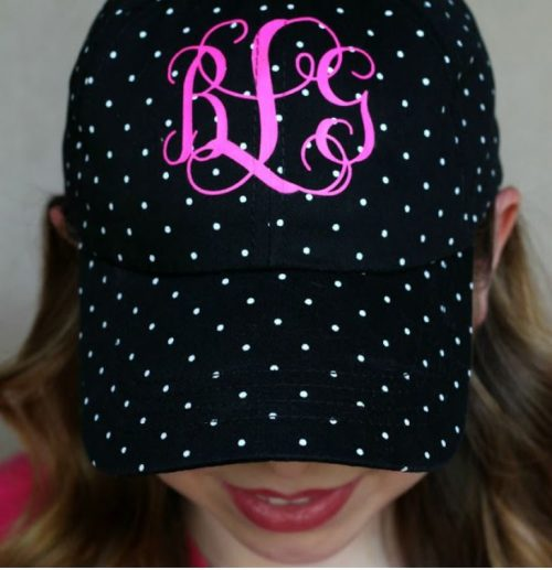 This hat cost $5 to make! You can make this with your Cricut machine