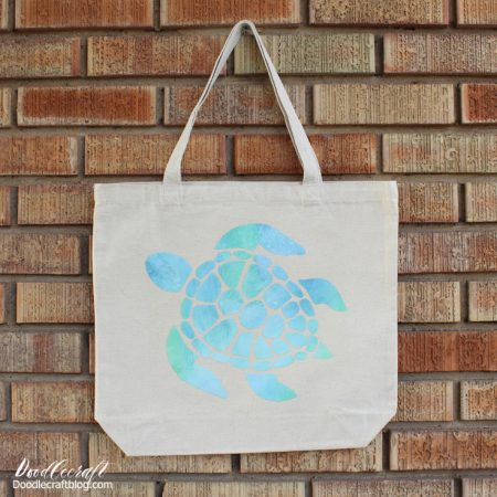 Create a summer themed tote using your cricut!