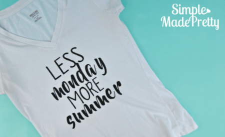 Make summer t-shirts with your Cricut that the whole entire family will want to wear!