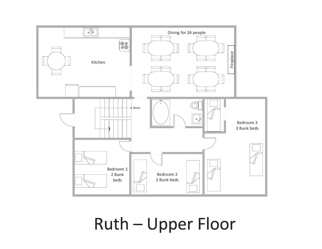 Ruth - Upper Floor