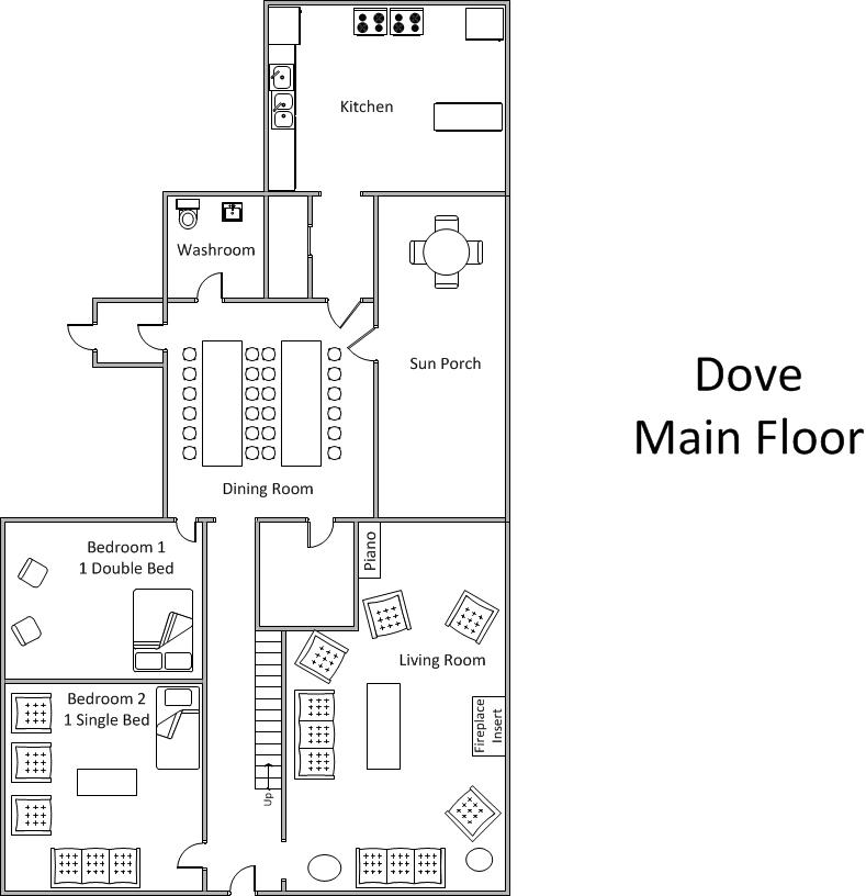 Dove - Main Floor