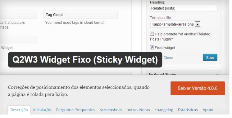 download Q2W3 Fixed Widget