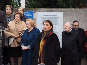 Cérémonie commémorative des enfants de la Verdière à Marseille (Photos Serge Aboulkheir)