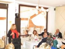 Dejeuner débat avec Madame la Consule Générale d'Israel à Marseille Anita Mazor