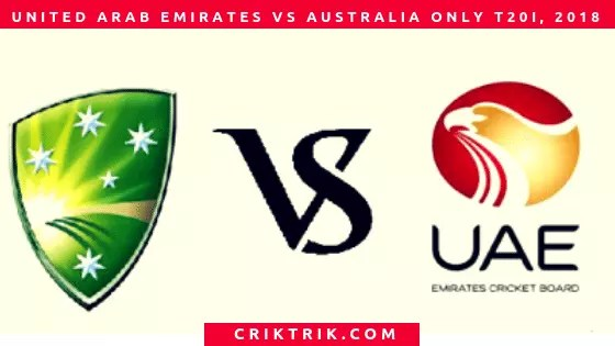 Australia tour of UAE
