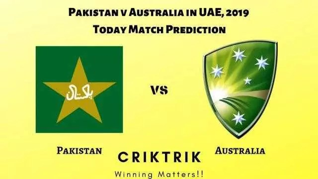 Pakistan v Australia in UAE, 2019