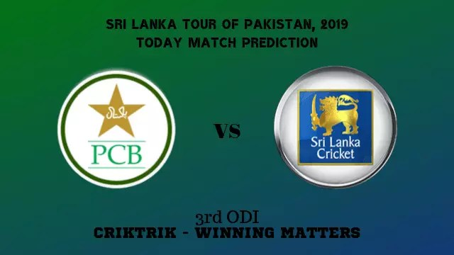pak vs sl 3rd odi match prediction - PAK vs SL, 3rd ODI Today Match Prediction - 02/10/2019
