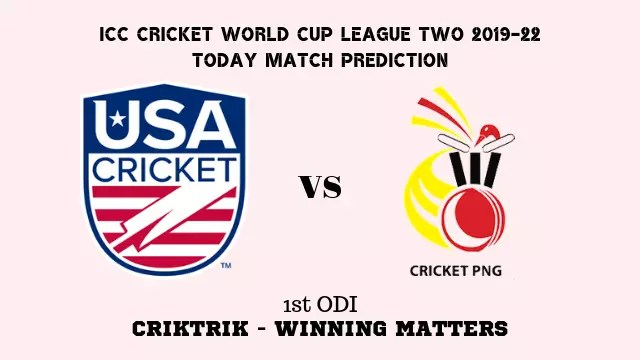 usa vs png 1st odi match prediction - USA vs PNG, 1st ODI Today Match Prediction - 13/9/2019