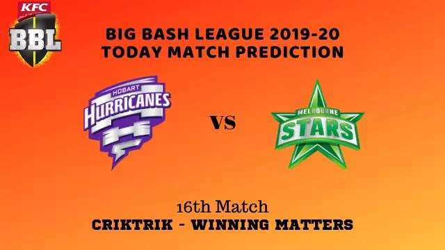 hbh vs mls prediction match16 BBL 2019 20 - HBH vs MLS Today Match Prediction - 16th T20, Big Bash League 2019-20