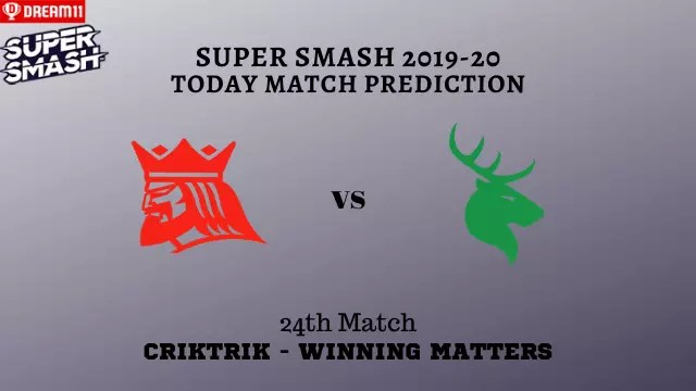 can vs cd prediction match24 super smash - CAN vs CD Today Match Prediction - 24th T20, Super Smash 2019-20