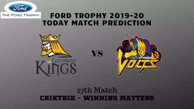 can vs otg prediction match27 ford tophy2019 20 - Canterbury vs Otago Prediction - 27th Match, Ford Trophy 2019-20