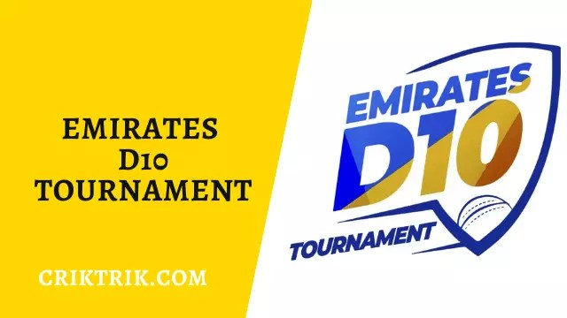 Emirates D10 Tournament 2020 CrikTrik - TAD vs DPS Today Match Prediction, Emirates D10 - 5/8/2020