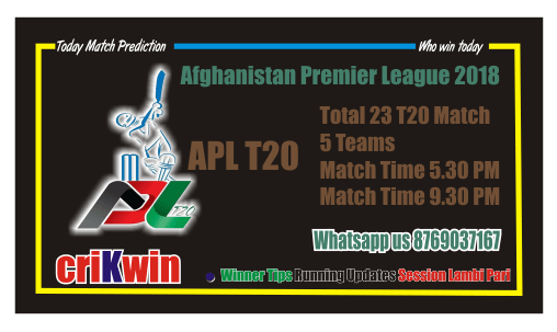 Today Match Prediction NAN vs PAK APL T20 4th Match