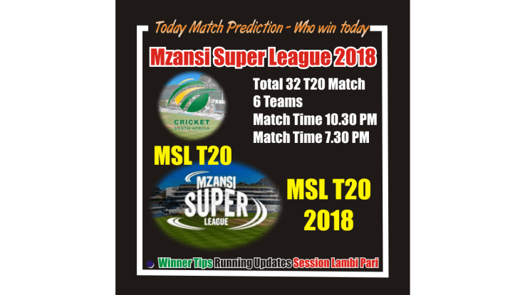 Who Win Today Jozi Stars vs Nelson Mandela Bay Giants 1st MSL T20 Match
