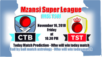 Who Win Today Cape Town Blitz vs Tshwane Spartans 1st MSL T20 Match