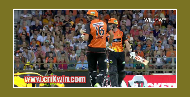 Who Win Today BBL 2018-19 4th Match Sydney Sixers vs Perth Scorchers