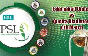Islamabad vs Quetta PSL 2019 Today 6th T20 Match Prediction Tips